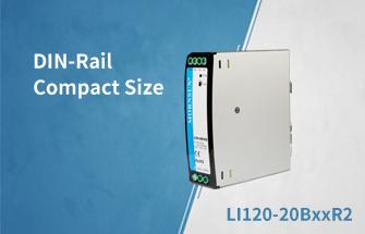 DIN-Rail High Isolated Compact Size Power Supply Series LI120-20BxxR2