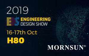 Welcome to Visit Mornsun at Engineering Design Show 2019