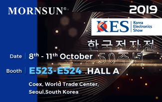 Welcome to Visit Mornsun at KES Korea Electronics Show 2019