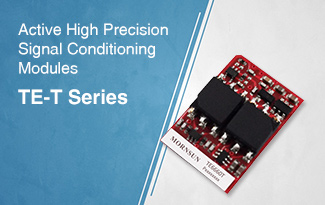 SMD Compact Size, Active High Precision Signal Conditioning Modules - TE-T Series