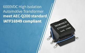 6000VDC High Isolation Automotive Transformer  - CTTH0505-1T