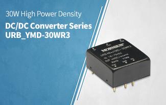 30W High Power Density DC/DC Converter Series URB_YMD-30WR3