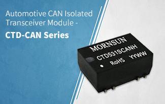 Automotive CAN Isolated Transceiver Module -CTD-CAN Series