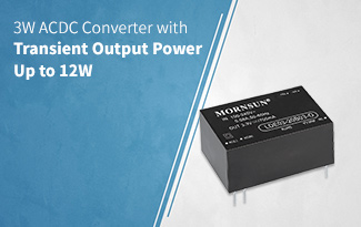 3W ACDC Converter with Transient Output Power Up to 12W