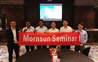 Mornsun successfully concluded its last power supply seminars 2019 in India