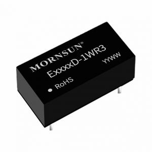 MORNSUN_DC/DC-Fixed Input_SIP/DIP Unregulated Output (0.25-3W)_E05_D-1WR3