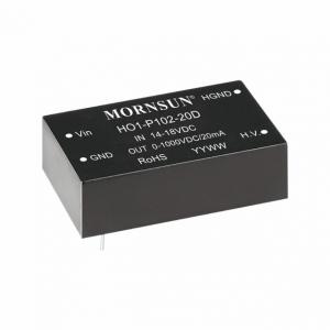 MORNSUN_DC/DC-High Voltage Output_Output Voltage ≤1KV_HO1-P102-20D