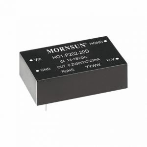 MORNSUN_DC/DC-High Voltage Output_Output Voltage ≤3KV_HO1-P202-20D