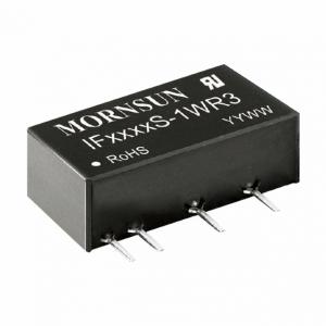 MORNSUN_DC/DC-Fixed Input_SIP/DIP Regulated Output (0.75-1W)_IF05_S-1WR3