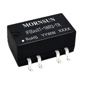 MORNSUN_DC/DC-Fixed Input_SMD Regulated Output (0.75-1W)_IF05_XT-1WR3-TR