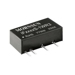MORNSUN_DC/DC-Fixed Input_SIP/DIP Regulated Output (0.75-1W)_IF_S-1WR3
