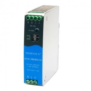 MORNSUN_AC/DC-Enclosed SMPS_Metal DIN Rail LIF (120-480W)_LIF120-10BxxR2S-EX