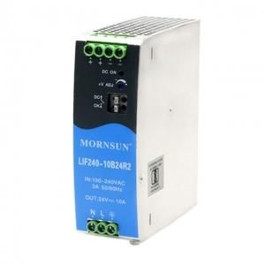 MORNSUN_AC/DC-Enclosed SMPS_Metal DIN Rail LIF (120-480W)_LIF240-10BxxR2