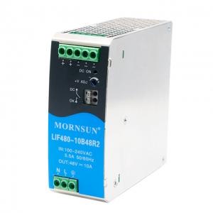 MORNSUN_AC/DC-Enclosed SMPS_Metal DIN Rail LIF (120-480W)_LIF480-10BxxR2