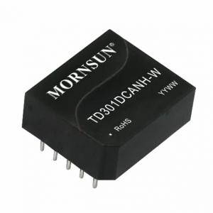 MORNSUN_Signal Isolation-Transceiver Module_CAN Transceiver Module_TD5(3)01DCANH-W