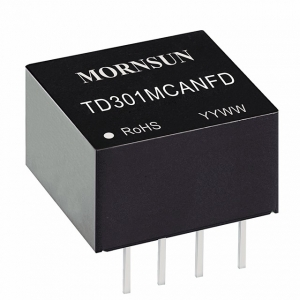 MORNSUN_Signal Isolation-Transceiver Module_CAN Transceiver Module_TD5(3)01MCANFD