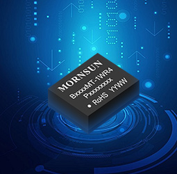 MORNSUN Chiplet SiP 1W isolated DC-DC converter